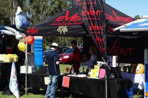 Local businesses showcase at the championships