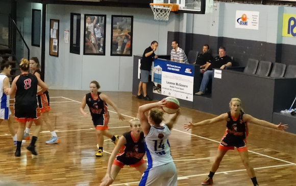 Brisbane Lady Spartans vs Canberra Capitals