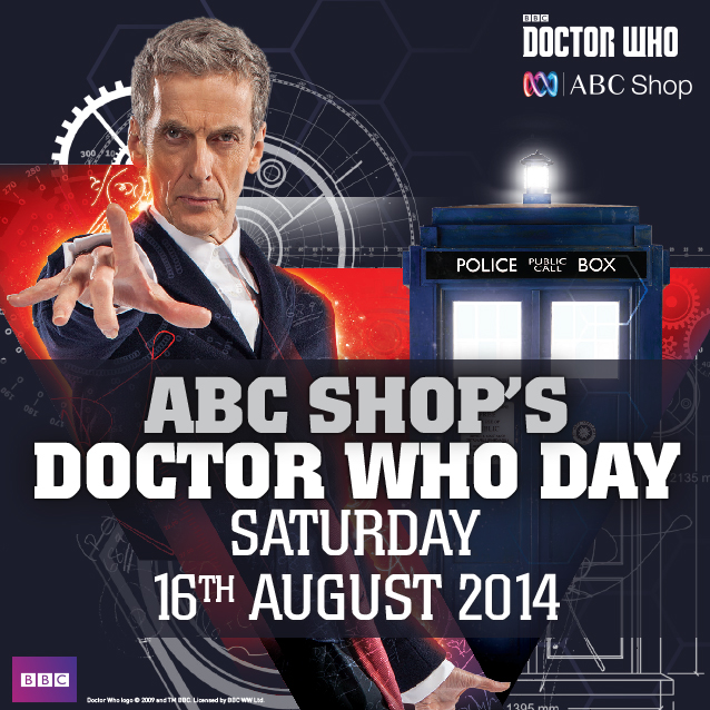 Doctor Who Day at ABC Shop Carindale