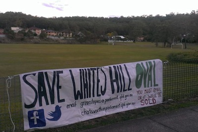 Whites Hill oval