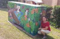 Environmental Artist Launching Public Art Work in Carina Heights this Saturday
