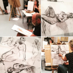 Life Drawing sessions provide you with creative time out